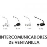 INTERCOMUNICADORES DE VOZ DE DOS VIAS PARA VENTANAS
